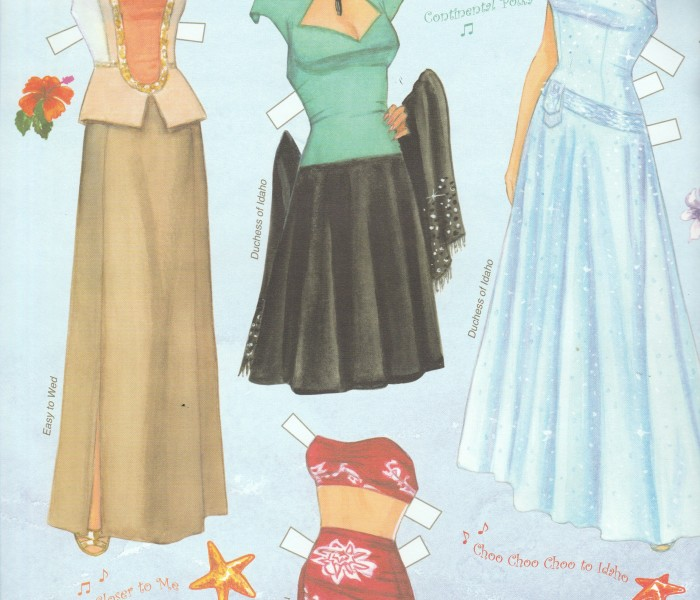 Esther Williams Paper Doll Book