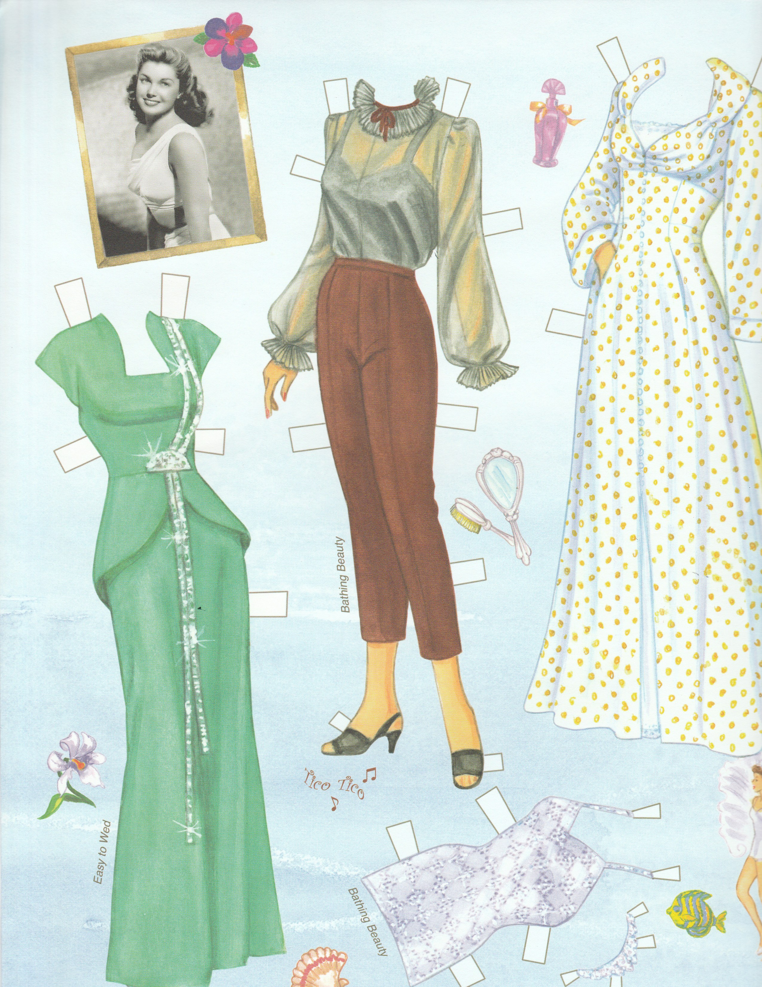 buy paper dolls Judy's place offering paper dolls including dress up paper dolls, vintage paper   was if i had enough change for the next paper doll i wanted to purchase.
