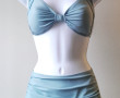 Two-Piece Classic Solid Seafoam