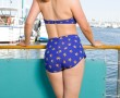 Two-Piece Classic Blue/Gold Starfish