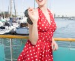 Marilyn Classic Red/White Dots
