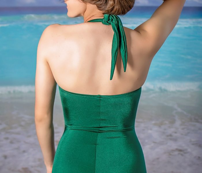 Classic Sheath Green Back