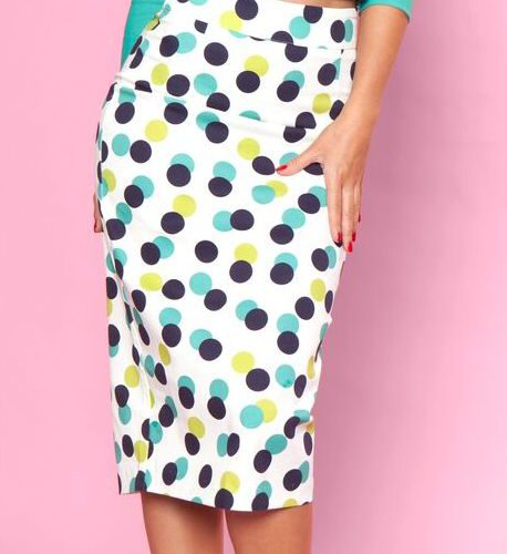 bbb High Time Skirt Polka Dot