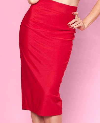 High Time Skirt Red bbb