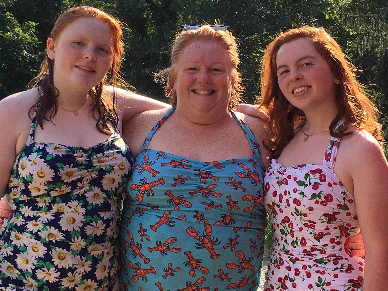 8e4d8c7284e What a beautiful family! Grace (14) in Dapper Daisy and Molly (17